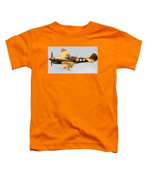 Curtiss P 40 Warhawk Toddler T-Shirt
