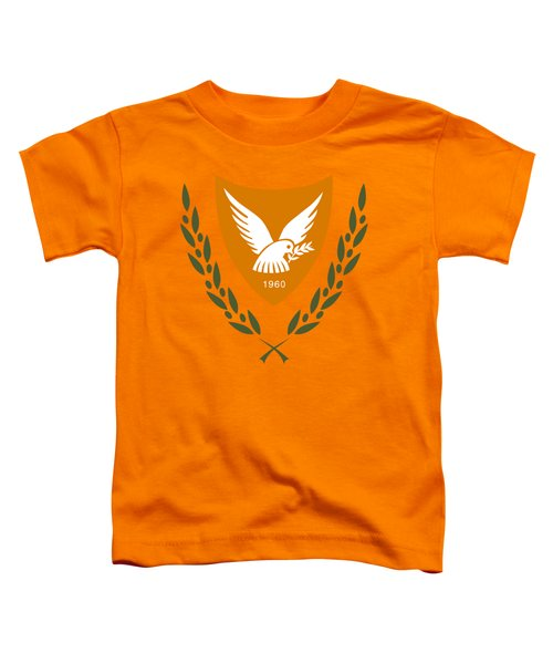 Cyprus Coat Of Arms Toddler T-Shirt