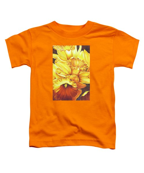 Daffodil Drama Toddler T-Shirt
