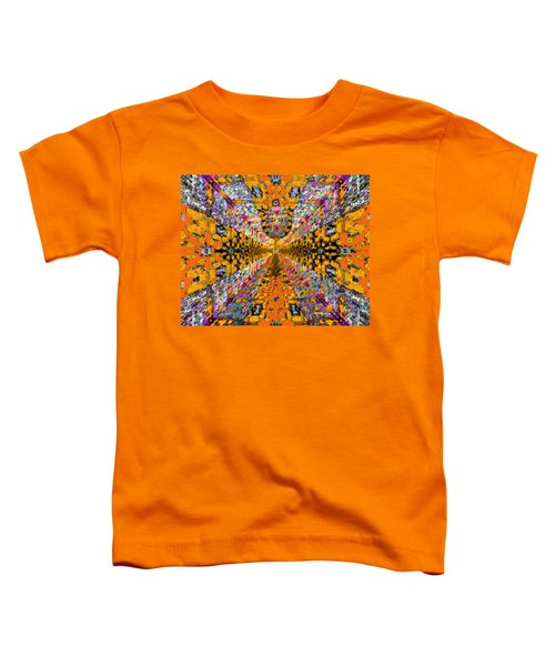 Toddler T-Shirt featuring the photograph Dance Hall Mirrors No. 1 by Joy McKenzie