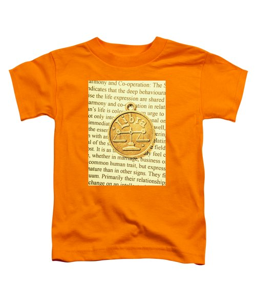 Decoration Of Libra Toddler T-Shirt