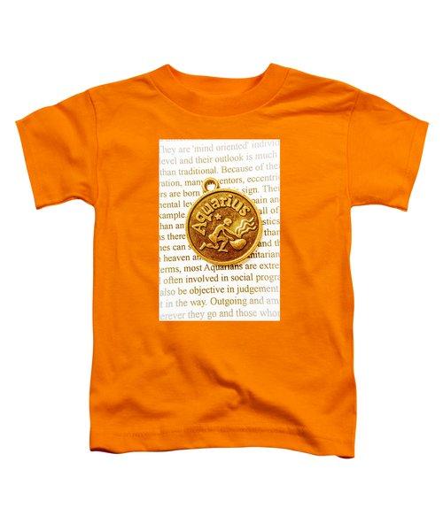Decorative Aquarius Toddler T-Shirt
