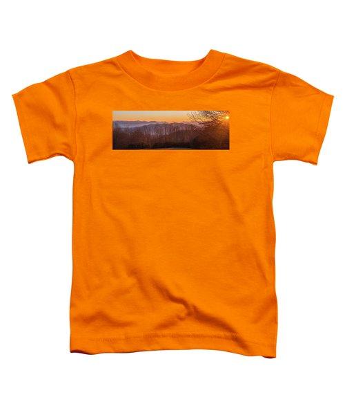Deep Orange Sunrise Toddler T-Shirt