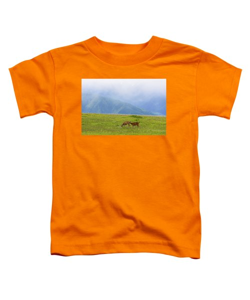 Deer In Browse Toddler T-Shirt