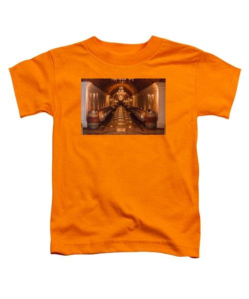 Del Dotto Wine Cellar Toddler T-Shirt
