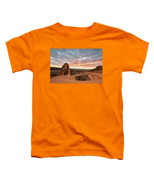 Delicate At Sunset Toddler T-Shirt