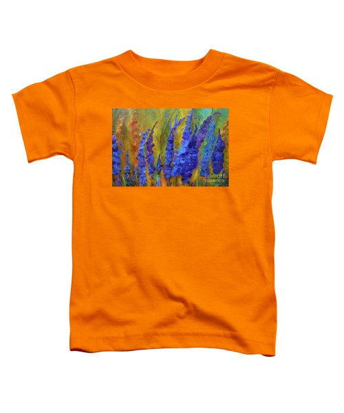 Delphiniums Toddler T-Shirt