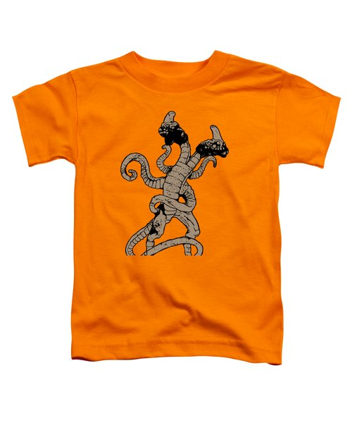 Demogorgon Stranger Things Digital Version Toddler T-Shirt by Jason Wright