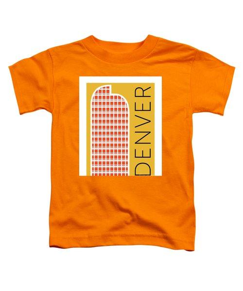 Denver Cash Register Bldg/gold Toddler T-Shirt