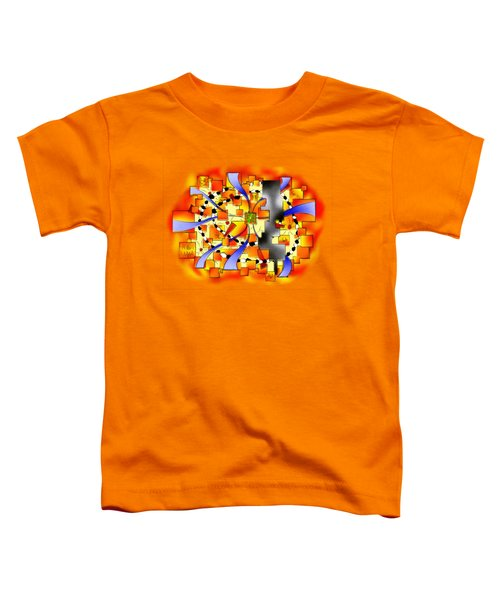 Deselia V3 - Abstract Digital Artwork Toddler T-Shirt