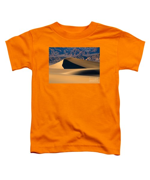 Desert Sand Toddler T-Shirt by Mike Dawson