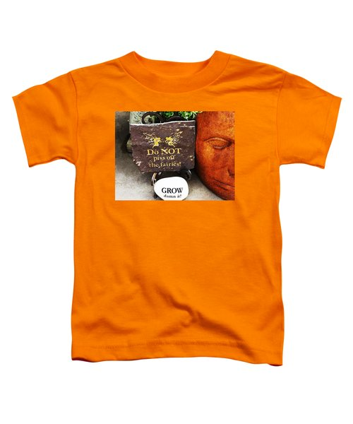 Do Not Piss Off The Faries Toddler T-Shirt