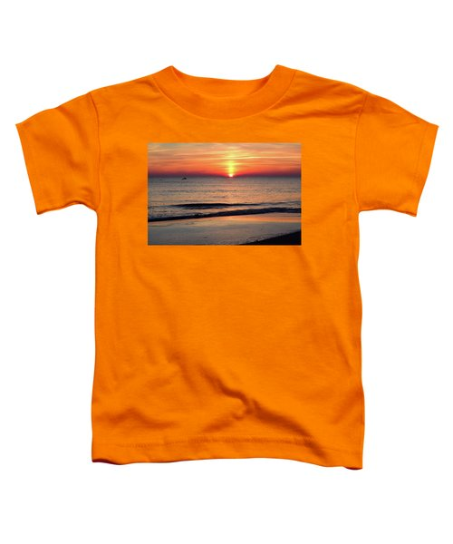 Dolphin Jumping In The Sunrise Toddler T-Shirt