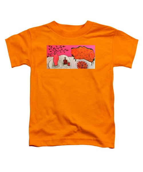 Down The Stairs Into The Living Room  By Paul Paucciarelli  Toddler T-Shirt
