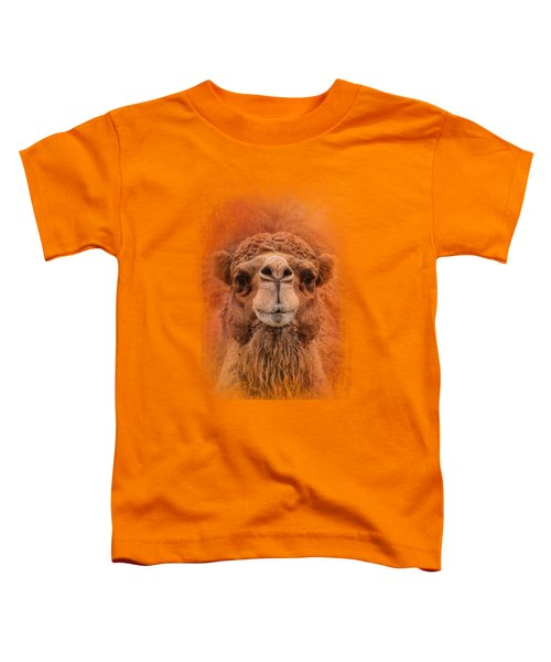 Dromedary Camel Toddler T-Shirt by Jai Johnson