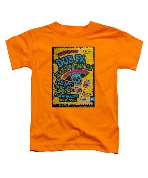 Dub Fx And Zoufris Maracas Poster Toddler T-Shirt