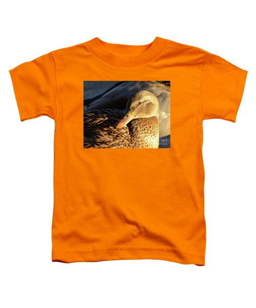 Duck Sunbathing Toddler T-Shirt