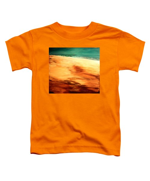 Toddler T-Shirt featuring the painting Dune Shadows by Winsome Gunning