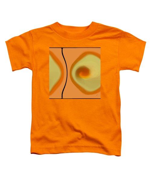 Egg On Broken Plate Toddler T-Shirt