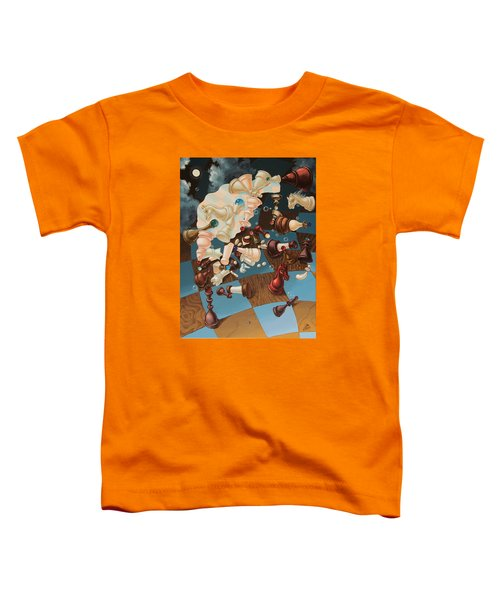 Einstein, Who Did Not Know How To Play Chess. Toddler T-Shirt