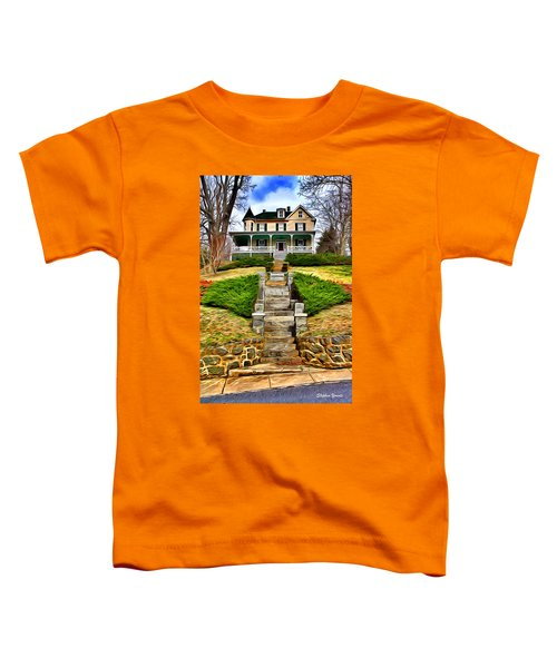 Ellicott City House Toddler T-Shirt