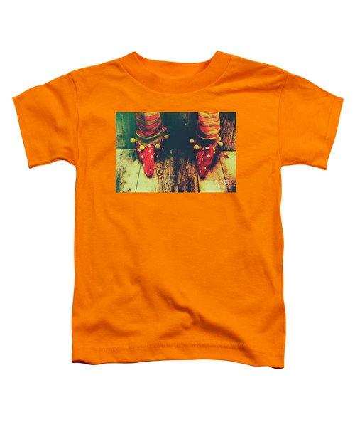Elves And Feet Toddler T-Shirt