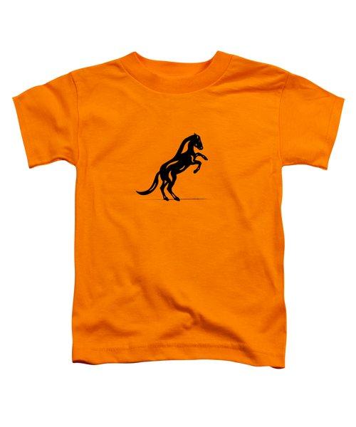 Emma II - Abstract Horse Toddler T-Shirt