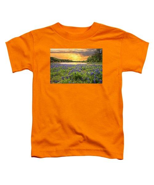 End Of A Bluebonnet Day Toddler T-Shirt