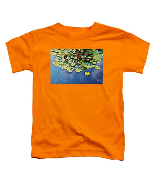 End Of July Water Lilies In The Clouds Toddler T-Shirt