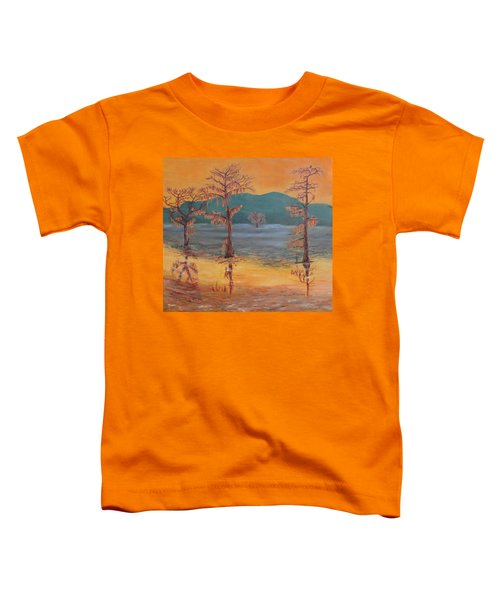 Evening On Caddo Lake Toddler T-Shirt