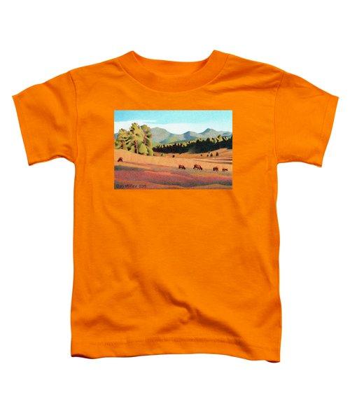Evening Light Evergreen Toddler T-Shirt