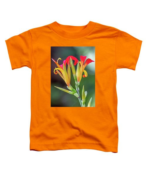 Exotic Flowers Toddler T-Shirt