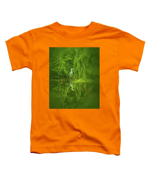 Fairy Tale Heron #g5 Toddler T-Shirt
