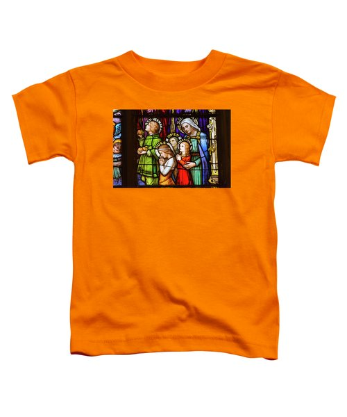 Faith, Hope, And Charity Toddler T-Shirt