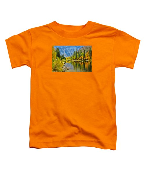 Fall At North Lake Toddler T-Shirt