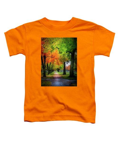Fall Color Toddler T-Shirt