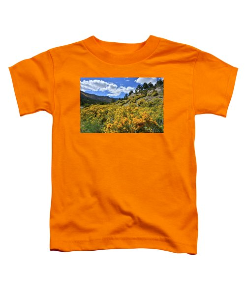 Fall Colors Come To Mt. Charleston Toddler T-Shirt