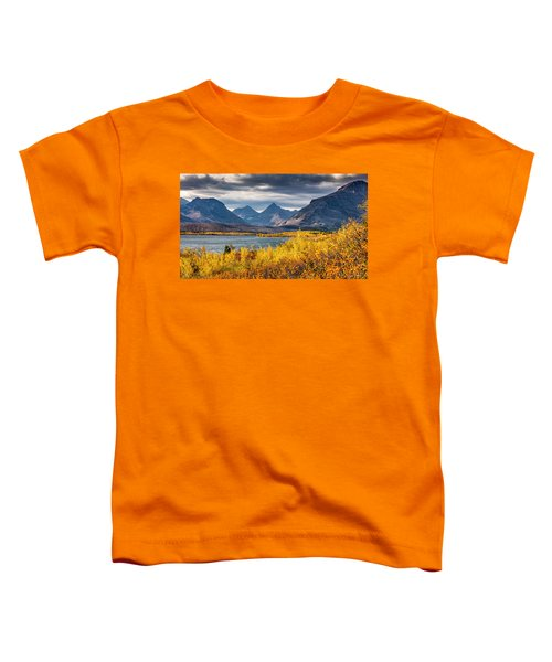Fall Colors In Glacier National Park Toddler T-Shirt