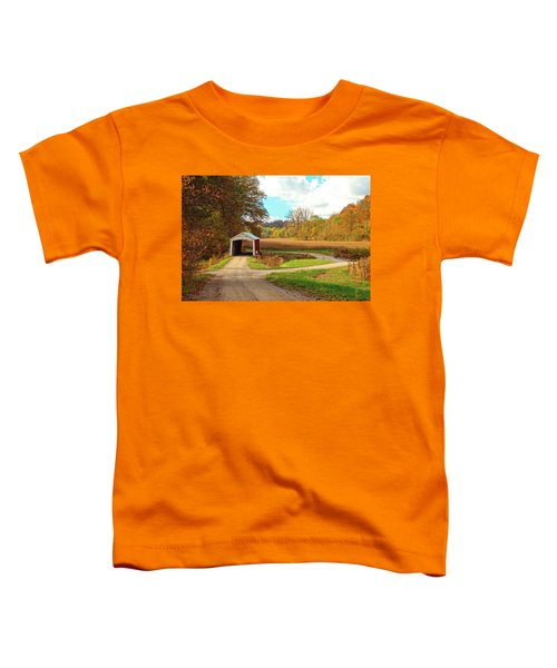 Fall Harvest - Parke County Toddler T-Shirt