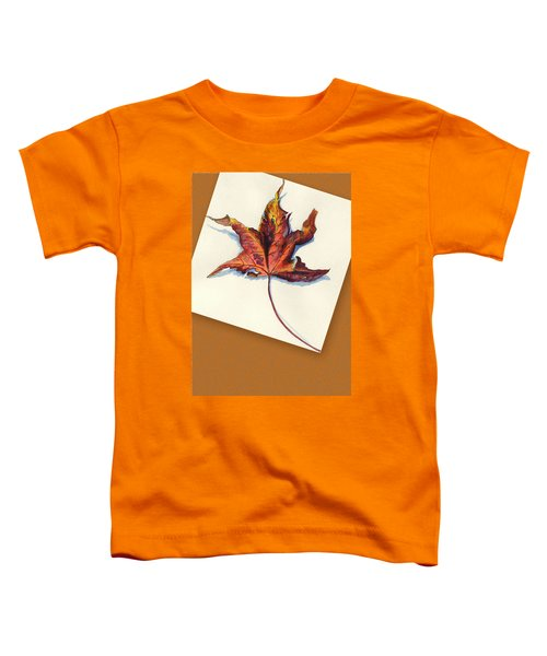 Fall Leaf Toddler T-Shirt