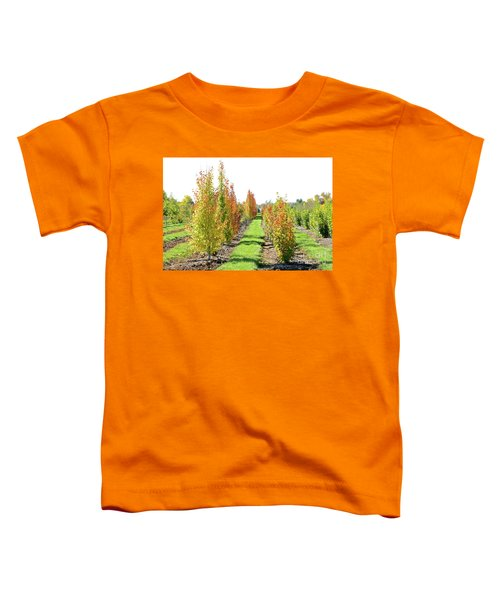 Fall On The Tree Farm Toddler T-Shirt
