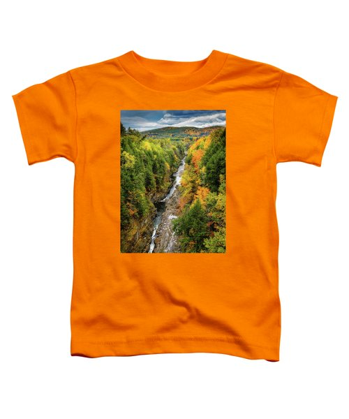 Fall Quechee Gorge, Vt Toddler T-Shirt