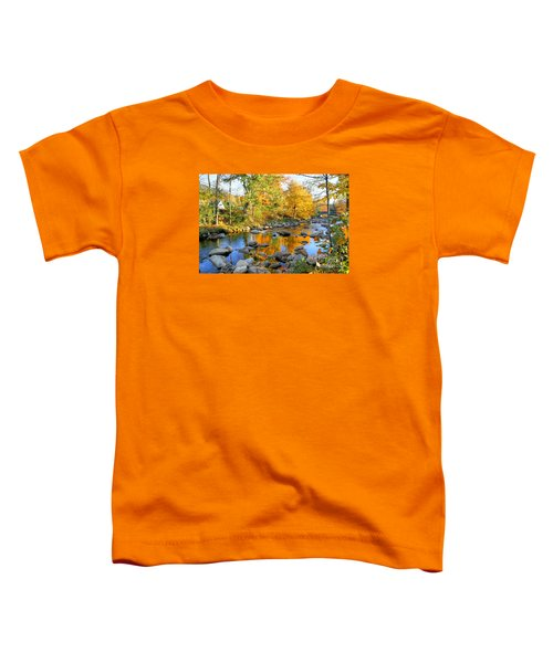Fall Reflections In Jackson Toddler T-Shirt
