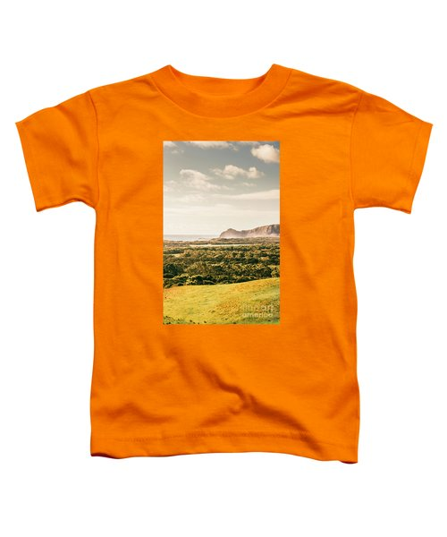 Farm Fields To Seaside Shores Toddler T-Shirt