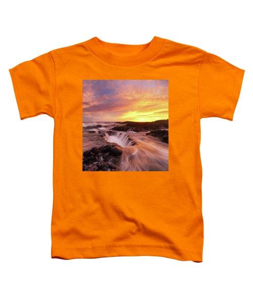 Fiery Sunset Toddler T-Shirt