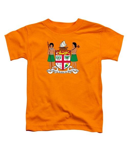 Fiji Coat Of Arms Toddler T-Shirt