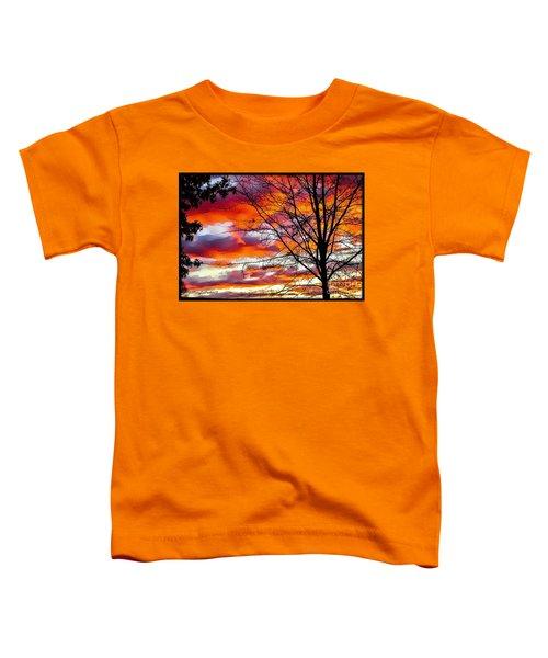 Fire Inthe Sky Toddler T-Shirt