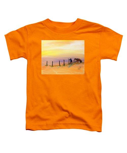 Fix On The Prairie Toddler T-Shirt