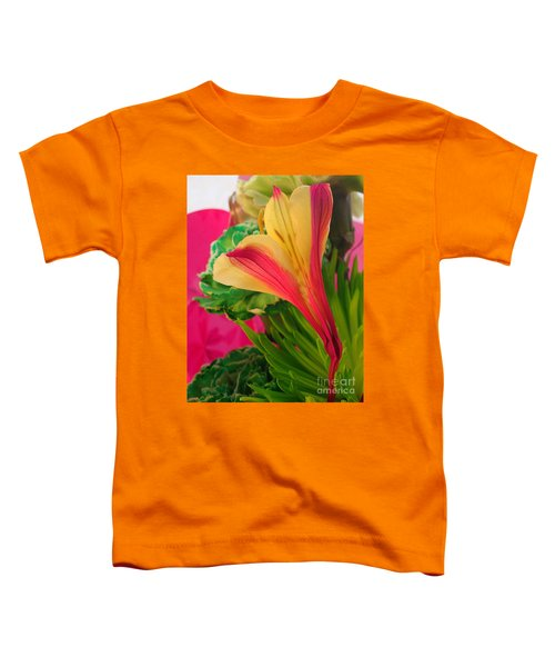 Floral Fusion Toddler T-Shirt