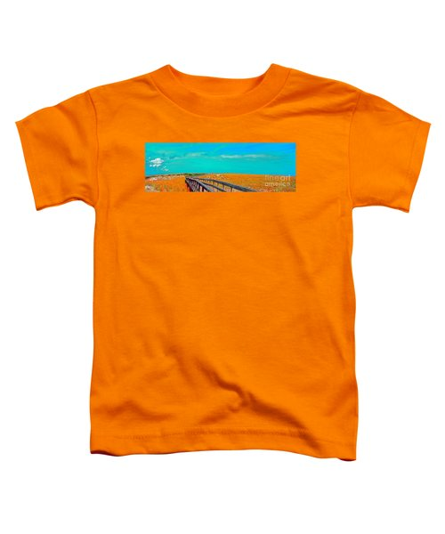 Florida Sand Dunes Atlantic New Smyrna Beach Toddler T-Shirt